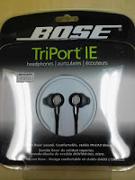 Bose in-ear headphones(ボーズ・インイヤーヘッドホン)の巻。