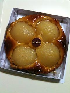 ドゥブルベ・ボレロのラフランスのタルトパイ