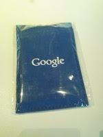 六本木ヒルズのiGoogleアートカフェでGoogleオリジナルミラーをゲット。
