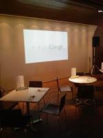 六本木ヒルズのiGoogleアートカフェのステージ。