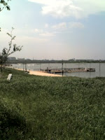 越谷レイクタウン大相模調整池。