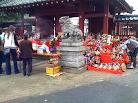 越谷市天嶽寺の人形供養に行って来た。