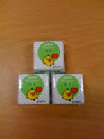 チロルチョコ「リラックマ・3色だんご」抹茶を食べた感想。