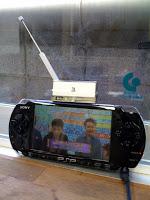 PSPのワンセグチューナーの受信感度にしょんぼり。