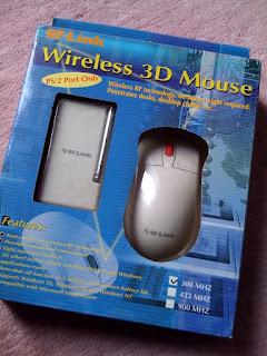 嫁のPCを整理していたら出てきたワイヤレスマウス