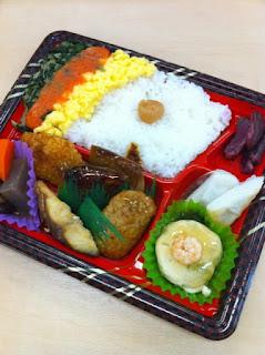 踊る大捜査線ローソン台場レインボー弁当(7種類のおかず入り)