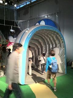 ドラえもんの科学みらい展のガリバートンネル