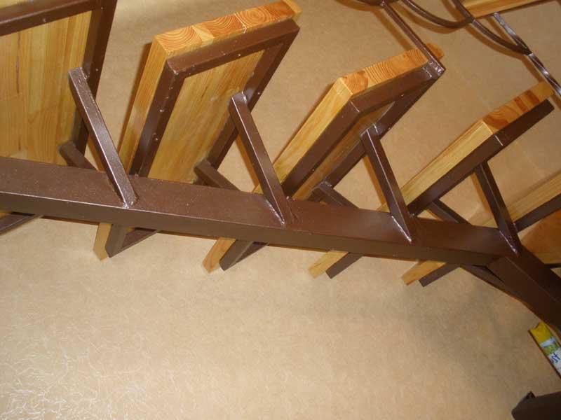 Изготовление металлических лестницы своими руками