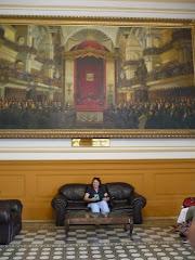 Visitando el Congreso de la República