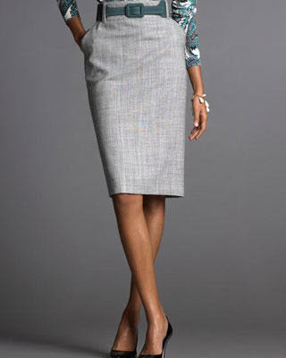 fashion style tips pencil skirt
