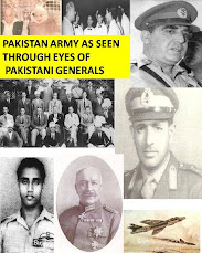 PAKISTAN ARMY AS SEEN THROUGH EYES OF PAKISTANI GENERALS