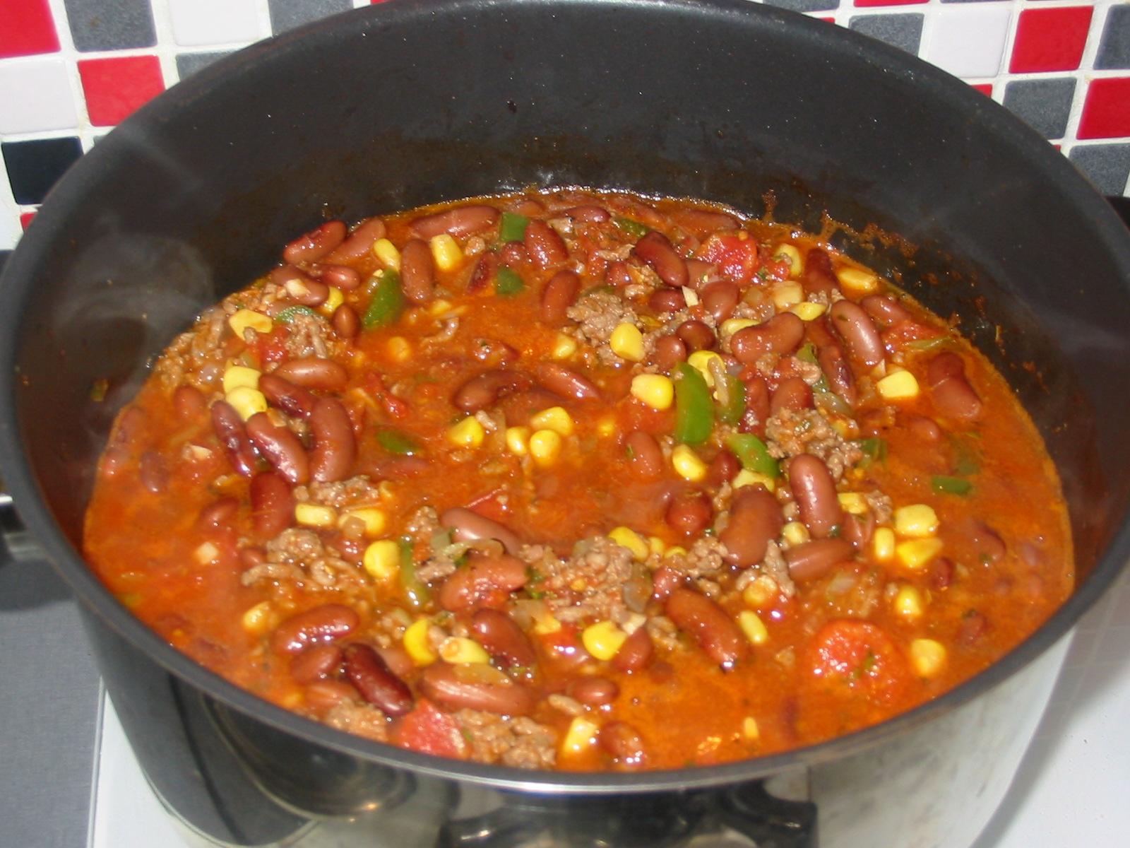 Le blog de waago chili con carne maison - Chili con carne maison ...