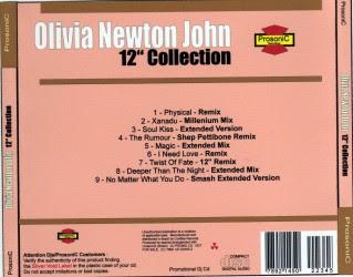 "Cover Album of OLIVIA NEWTON JOHN - 12"" Collection"