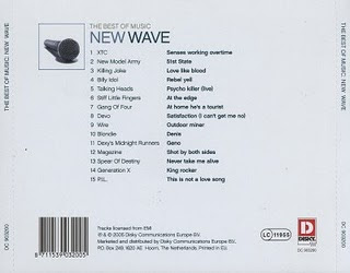 Cover Album of New Wave - The Best Of Music New Wave