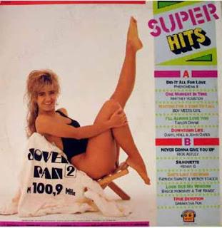 Cover Album of Super Hits  - Jovem Pan 2 FM 100,9  (1989)