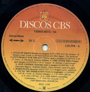 Cover Album of Video Hits 84 (1984)