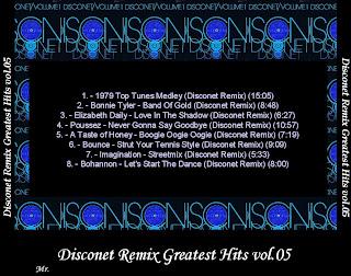 Cover Album of Disconet Remix Greatest Hits Vol.05