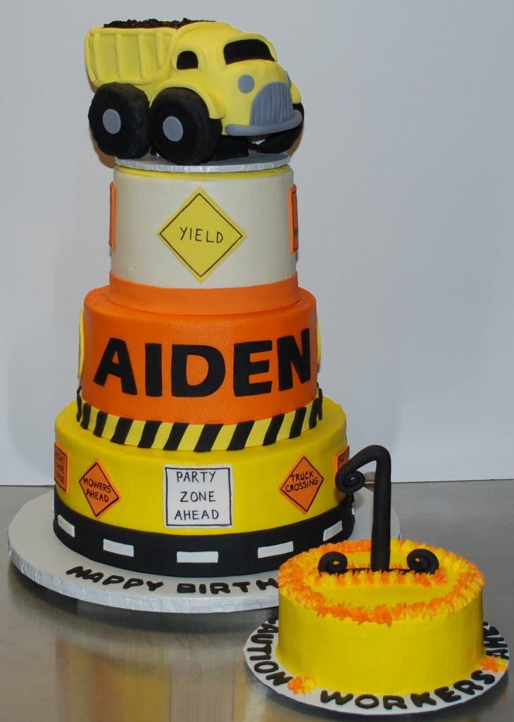 The Bakery Next Door: Construction Birthday Cake