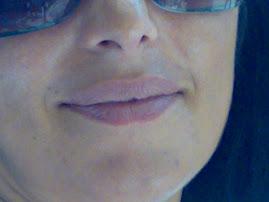 Sabrina's lips