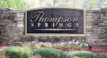 Thompson Springs Milton Georgia