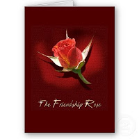 Friendship Rose Cards