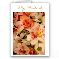 Friendship Flowers Note Cards
