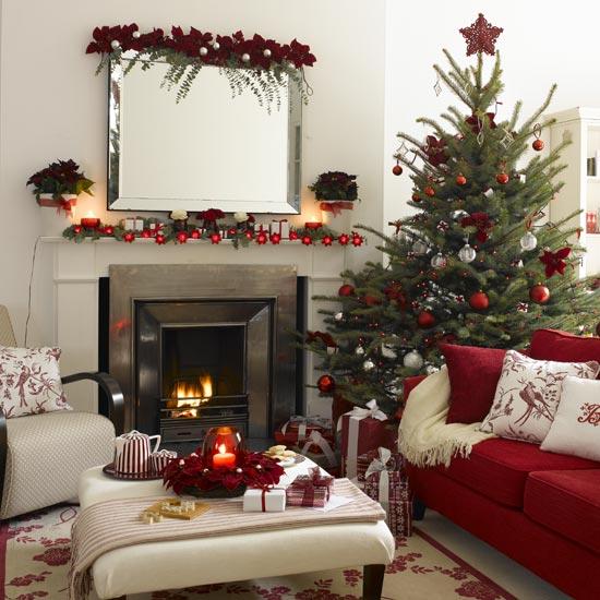 Christmas Decorating Idea House 550 x 550