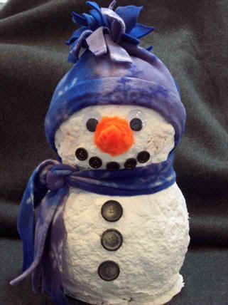 Christmas ideas paper mache christmas crafts paper mache for Paper mache craft ideas
