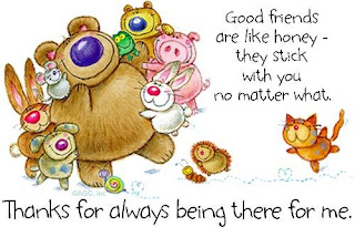 Good Friends Are Like Honey