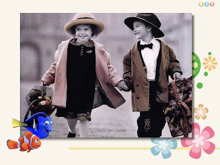 Cute friendship greeting card