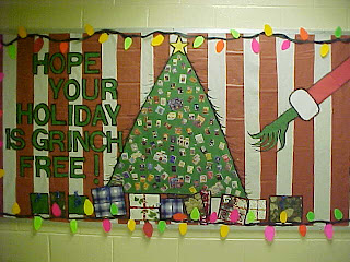 Bulletin Board Ideas For Christmas