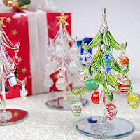 christmas decoration crystal ornament