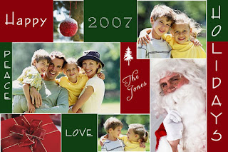 Christmas Holidays Photo Cards