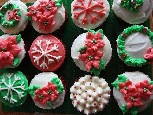 Christmas Ideas: Christmas Cupcakes, Decorated Xmas ...