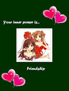 Anime Friendship Cards