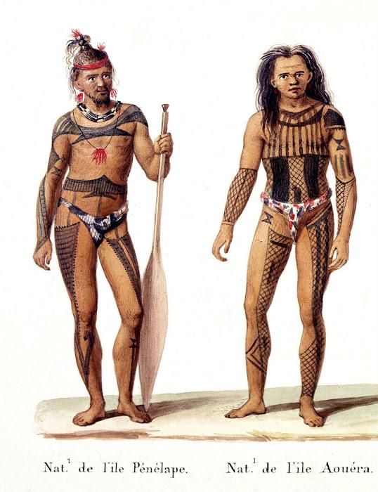 Pingelap and Mwoakilloa Tattoo