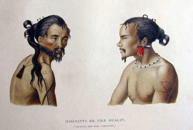 Micronesian and North Pacific Islands' Tattoos: Kosrae