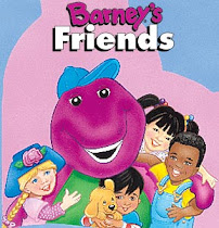 Barney el dinosaurio Feliz-chicos,dibujos educativos.canciones, videos