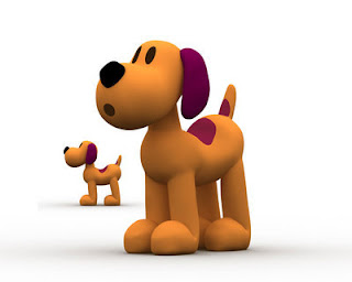 Pocoyo - Un perro Carinoso