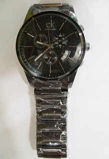 Jam Tangan Original: CALVIN KLEIN Circle Master Chrono (Full Black)