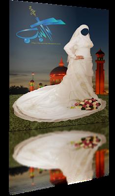 طلب صوره عروسه محجبه عاليه الجودا