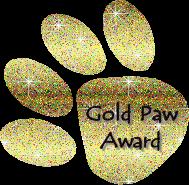 Gold Paw Award