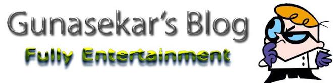 Gunasekar's blog