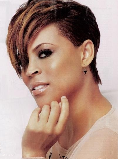 shaunie oneal Hot Hair Style: The Sassy Swoop