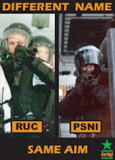 RUC/PSNI Different Name, Same Aim