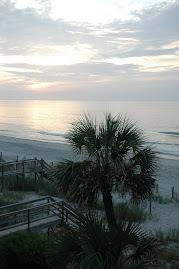 Sunrise over Surfside Beach, SC
