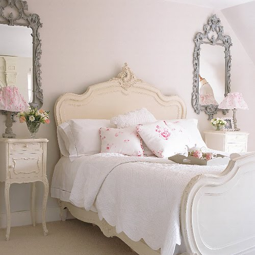 French Shabby Chic Bedroom Decorating Ideas