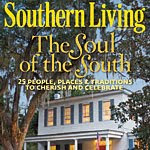 Leslie Rowlands Custom Kitchen in Southern Living magazine