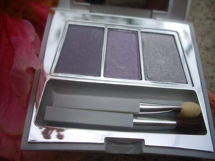 CARING COLORS EYE SHADOW TRIO COMPACT, PURPLEXION