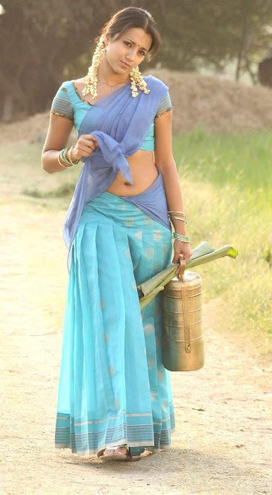 trisha krishnan in half saree photo gallery